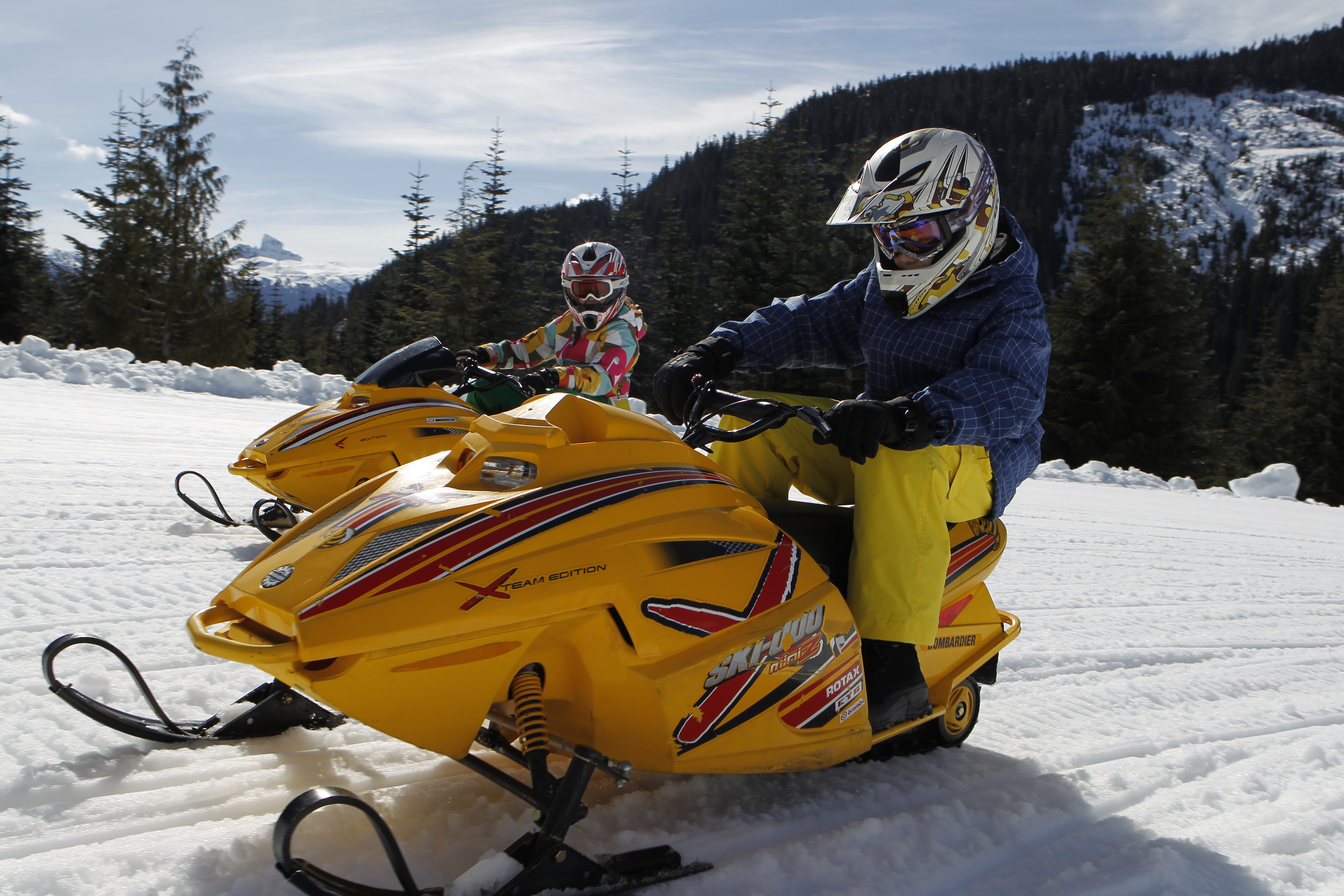 Family Tour - Blackcomb Snowmobile