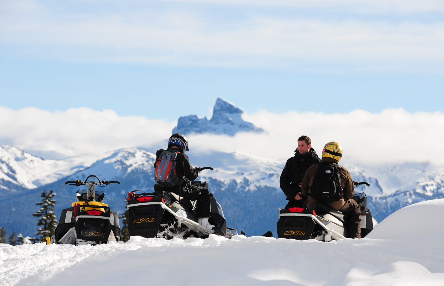 Private Snowmobile Tour